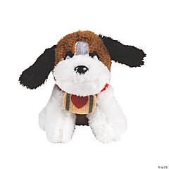 Valentine Stuffed St. Bernards