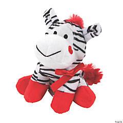Valentine Stuffed Zebras PDQ