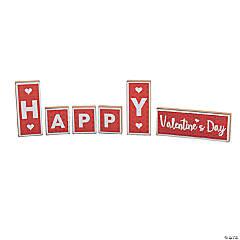 Valentine Tabletop Blocks