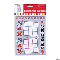 Valentine Tic-Tac-Toe Game Clip Strip