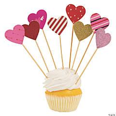 Valentine Unicorn Cupcake Picks