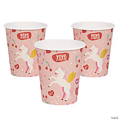 Valentine Unicorn Cups