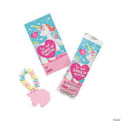 Valentine Unicorn Hard Candy Bracelets
