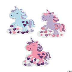 Valentine Unicorn Magnet Craft Kit