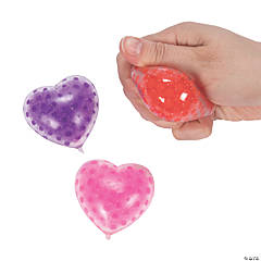 Valentine Water Beads Heart-Shaped Toys