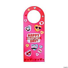 Valentine's Day Doorknob Hanger Sticker Scenes