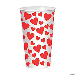 Valentine's Day Hearts Cup