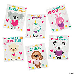 Valentine's Day Pop-Out Finger Puppets