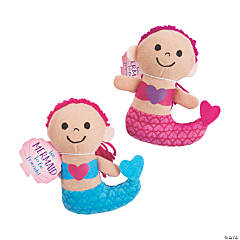 Valentine's Day Stuffed Mermaids