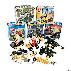Vehicle Building Block Kits PDQ