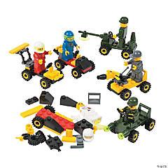 Vehicle Building Block Kits PDQ