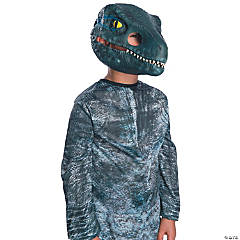 Velociraptor Movable Jaw Child Mask