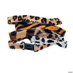 Velour Animal Print Friendship Bracelets