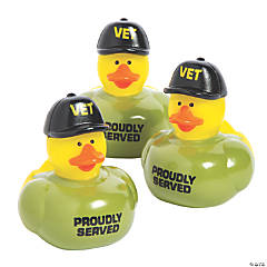 Veteran Rubber Duckies