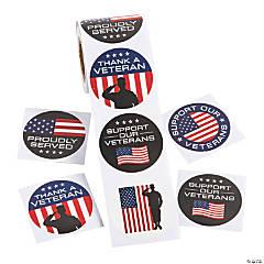 Veteran Stickers