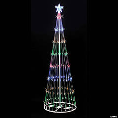 Vickerman 12' Christmas Show Tree with Multi-Colored LED Lights