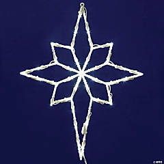 """Vickerman 18"""" Star of Bethlehem Wire Silhouette with LED Lights"""