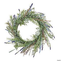 "Vickerman 21"" Lavender Wreath"