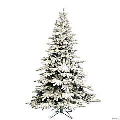 Vickerman 4.5' Flocked Utica Fir Christmas Tree - Unlit