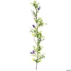 Vickerman 5' Artificial Mixed Floral Garland