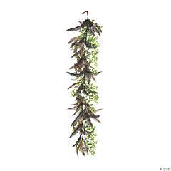 Vickerman 6' Green Fern Cotton Garland
