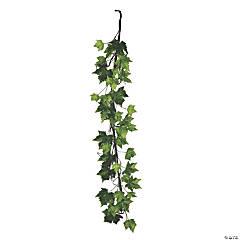 Vickerman 6' Green French Platanus Leaf Garland