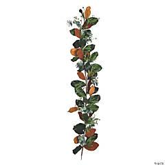 Vickerman 6' Green Magnolia Leaf Garland