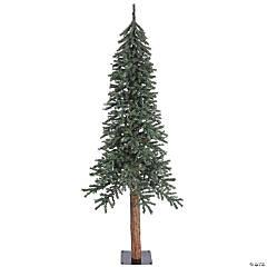 Vickerman 7' Natural Bark Alpine Christmas Tree - Unlit
