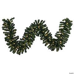 Vickerman 9' Douglas Fir Artificial Christmas Garland, Warm White LED Lights