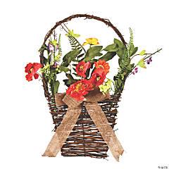 Vickerman Artificial Mixed Floral Basket