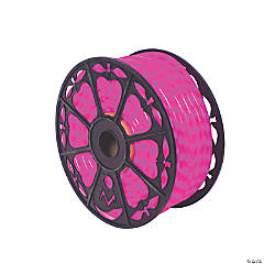 Vickerman Fluorescent Pink LED Rope Light 150 ft