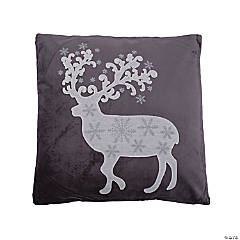 Vickerman Grey White and Silver Stitched Deer 18