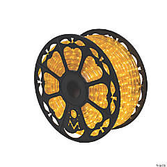 Vickerman Yellow LED Rope Light 150 ft