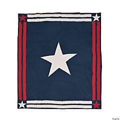 Vintage Americana Throw