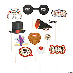 Vintage Circus Photo Stick Props