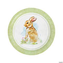 Vintage Easter Paper Dinner Plates - 8 Ct.