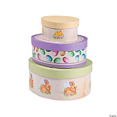 Vintage Easter Stacking Boxes