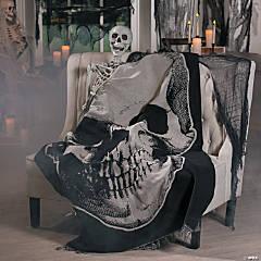 Vintage Skull Throw Halloween Decoration