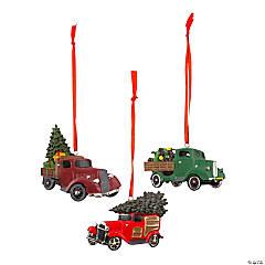 Vintage Truck Christmas Ornaments