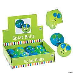 Vinyl Alien Sticky Splat Balls
