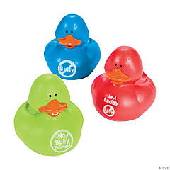 Vinyl Anti-Bullying Rubber Duckies