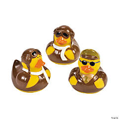Vinyl Aviator Rubber Duckies