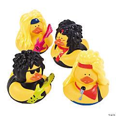 Vinyl Big Hair Rubber Duckies