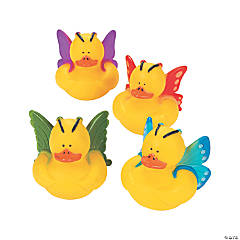 Vinyl Butterfly Duckies