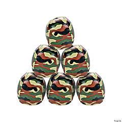 Vinyl Camouflage Kick Balls