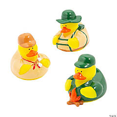 Vinyl Camping Rubber Duckies