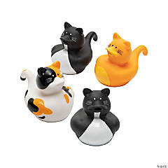 Vinyl Cat Rubber Duckies