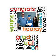 Vinyl Cheers to the Grad Magnetic Picture Frames
