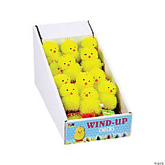 Vinyl Chick Wind-Up Toys PDQ