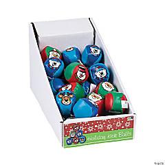 Vinyl Christmas Character Kick Balls PDQ
